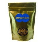 Window Bag with Cashews - Gold