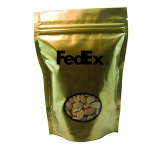 Window Bag with Peanuts - Gold