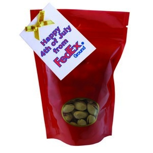 Large Window Bag with Pistachios and Custom Gift Card