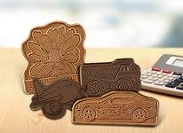 Custom Chocolate Bars - Design your own Shape 4 x 6