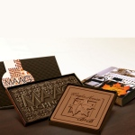Logo Chocolate Bar with Gift Box and Custom-Imprinted Band