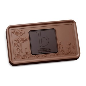 Custom Logo Chocolate Combo Bar Two Tone Milk & Dark