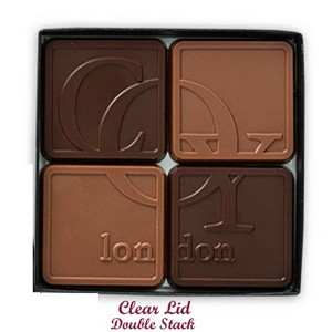 Chocolate Assortment with Clear Lid 8-Piece
