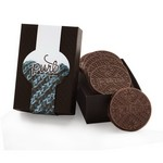 Chocolate Covered Cookies in Gift Box - 6 Cookies