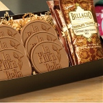 Chocolate Covered Cookies and Cocoa in Gift Box - LG