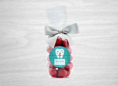 Chocolate Covered Cherries in Gift Bag