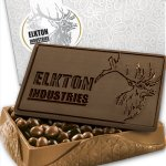 Traditional Custom Chocolate Edible Chocolate Box