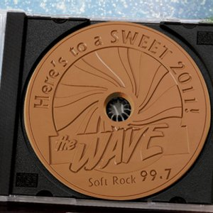 Chocolate CD in Actual CD Case