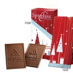 Custom Chocolate Trio Bookends - 8-Pack