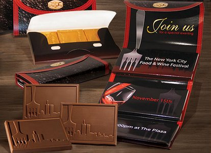 Deluxe Chocolate Trio Wallet (1  Design)