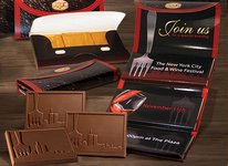 Deluxe Chocolate Trio Wallet (up to 3 Design)