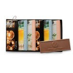 Wrapper Bar Gift Pack-1 Design-Clear Lid/Stretch Bow