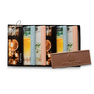 Wrapper Bar Gift Pack-Up to 6 Designs-Clear Lid/Stretch Bow