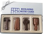 Chocolate Tools in a Gift Box 4oz with Optional Logo Hot Stamp