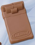 Bed or Mattress Molded in Logo Chocolate 2.5 oz