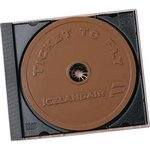 Compact Disk / CD / DVD Molded in Chocolate 2 oz