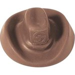 Cowboy Hat Molded in Chocolate 1 oz