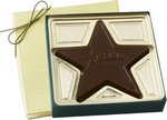 Custom Chocolate Molded Star 2.5 oz