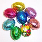 Chocolate Mini Easter/Spring Egg Party Favor