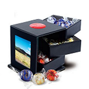 Lindt Truffles Leatherette Swing Box with Drawers