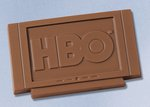 Plasma HD Television / TV Molded in Chocolate 1 oz