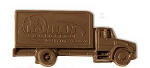 Commercial Truck Molded in Logo Chocolate 2.5 oz