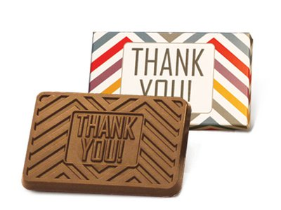 Thank You 2x3 in Printed Box - Stock No Logo