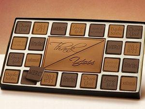 45pc Thank You Chocolate Assortment - Stock