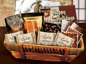 Holiday Gift Basket - Stock No Logo