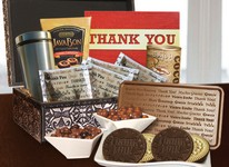 Thank You Gift Box-Red  - Stock No Logo