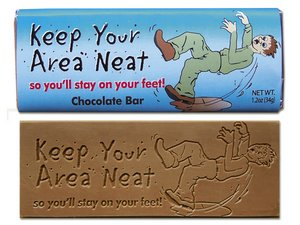 Keep Your Area Neat Wrapper Bars - Stock