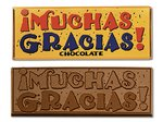 Muchas Gracias Chocolate Wrapper Bars - Stock