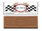 We Did It Chocolate Wrapper Bars - Stock