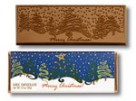 Merry Christmas Chocolate Wrapper Bars - Stock