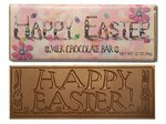Happy Easter Chocolate Wrapper Bars - Stock