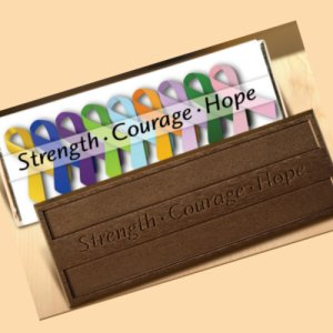 Strength, Courage, Hope - Stock No Logo