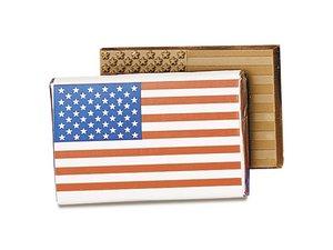 Stars & Stripes Chocolate Wrapper Bars-Medium