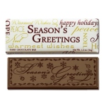 Season's Greetings Wrapper Bars-Dark - Stock