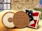 Republican Cookie 2 Pack - Stock No Logo