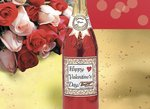 Valentine Champagne Bottle - Stock No Logo