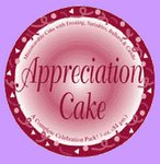 Appreciation Cake Party Favor