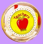 Teachers Cake Party Favor