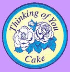 Thinking of You Cake Party Favor