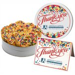 Celebration Sprinkle Cookies - Small Tin