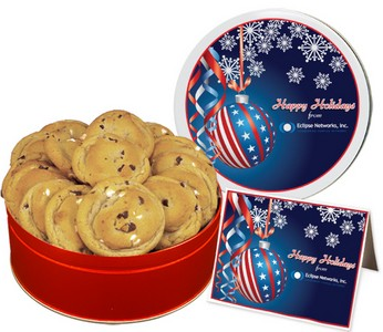 Double Chocolate Chip Cookies (15 oz. in small Tin)