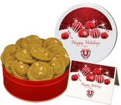 White Chocolate Macadamia Nut Cookies  Small Tin