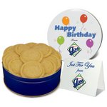 Crystal Sugar Cookies in Logo Tin