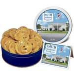 Double Chip Cookie Gifts in Regular Size Gift Tin