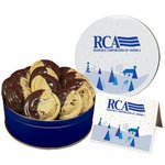 Dipped Chocolate Chip Cookies - Large Tin
