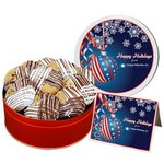 Deluxe Double Dipped Chocolate Chip Cookies - Large Tin